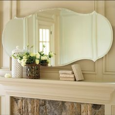 frameless mirrors | ... Mirror - Audrey Frameless Mirror - Wide Beveled Edge Mirror mirrors