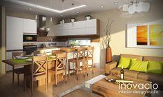 Návrh interiéru kuchýň