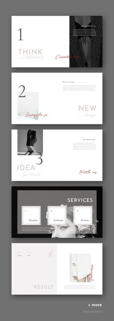 Basic PowerPoint Template is a simple presentation to show your project & ideas. This multi-purpose template might help you create presentation easily. Website Design Inspiration, Brochure Inspiration, Portfolio Presentation, Presentation Design, Presentation Templates, Brand Strategy Template, Research Poster, Web Design, Pitch Deck