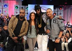 2Chainz, kanye West, 106 and park