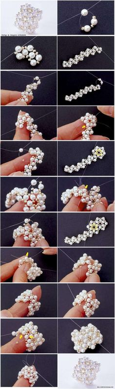 Anillo con perlas http://manualidadesamigas.foroargentina.net/