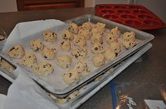 deployment countdown, freeze cookie balls, and take two out each week to bake.  One for kid, one to send to dad.