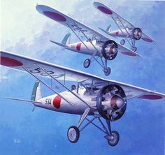 Nakajima Type 91 Fighter by Shigeo Koike