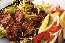 Greek souvlakia – Recipes – Slimming World - Free on Extra Easy Slimming World Free, Slimming World Dinners, Slimming World Recipes, Healthy Eating Recipes, Diet Recipes, Cooking Recipes, Lamb Recipes, Skinny Recipes, Healthy Dinners
