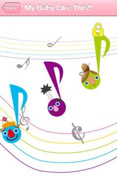 "BabyTune ""Sound Play"" page"