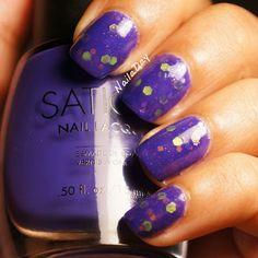 Nail a Day: Instafranken Friday: Sation Super Nail-tural Powers based franken