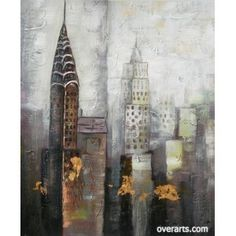 City [Hs3742] Oil Painting for sale on overArts.com