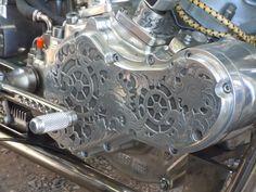 metal engraved Harley