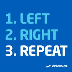 #Running: It's as easy as 1, 2, 3.