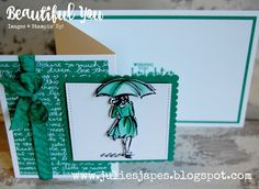 Julie Kettlewell - Stampin Up UK Independent Demonstrator - Commande de produits 24/7: Beautiful You avec Emerald Envy