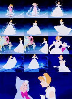 Cinderella... Walt's favorite piece of animation.