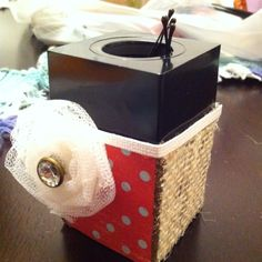 Bobby pin holder...so need to do this!