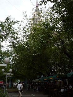 Peatonal, Ciudad de Mendoza, provincia de Mendoza, Argentina, noviembre 2011