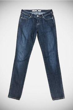 VintageWrangler Dark Blue Denim Jeans. Size:10
