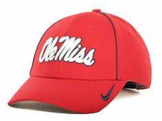 Nike - Dri-Fit Sideline Legacy 91 Cap - Adjustable - NCAA - Ole Miss Rebels #Nike #OleMissRebels