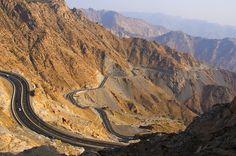 Alhada Road, Taif, Saudi Arabia - scared the $#)(*% out of me!