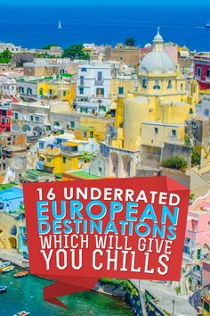 16 Underrated European Destinations: Europe has much more to offer than just gorgeous men! OMG I found so many awesome places to #travel to which I didn't even know existed :) So much to see, so little time...