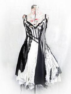Custom Bridal by Gibbous Fashions / Tim Burton