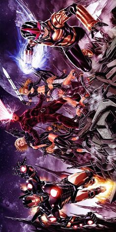 Iron Man Special, the Uncanny X-Men Special, and the Nova Special tryptych by Mark Brooks *