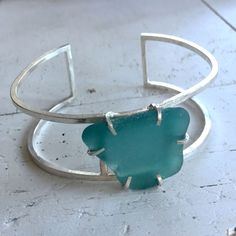 hello my new favorite spring / summer accessory! Sea Glass Jewelry  Sea Glass Bracelet  Beach Glass by thebeadgirl