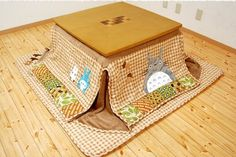 I know it's for a kids room but it's Totoro! :D I would live under here <3