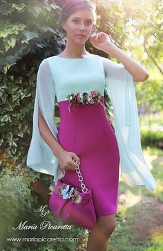 María Picaretta - Wail Tutorial and Ideas Classy Outfits, Beautiful Outfits, Dress Outfits, Fashion Dresses, Short Dresses, Formal Dresses, Elegant Dresses, Special Occasion Dresses, Dress Patterns
