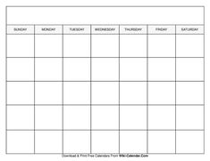Blank Monthly Calendar Template, Blank Calendar Pages, Daily Calendar Template, Kids Calendar, 2021 Calendar, Calendar Printable, Schedule Printable, December Calendar, Calendar Ideas