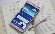 11 月中旬在台上市,Samsung GALAXY Note 3 香頌粉搶先看 - http://chinese.vr-zone.com/87362/samsung-galaxy-note-3-pink-hands-on-10202013/