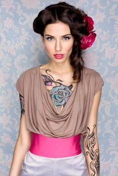 Se está pensando em tatuar uma rosa, descubra antes o seu significado! #tatuagens #tattoo #ink #rosas