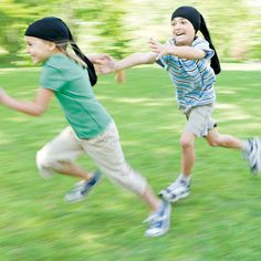 Outside games ideas from Family Fun