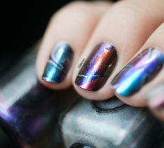 Water Marble Multichrome & Holographic