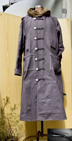 Cotton Coat ....HandMade and with the Hand-dyed...made by www.holger-sommer.com