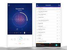 Music Player UI by Jayesh Kanade