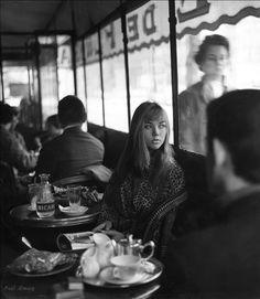 Paul Almasy Café de Flore Paris 1960s
