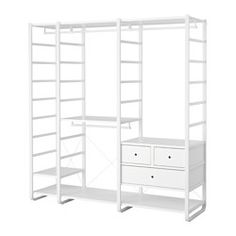 elvarli 3 sections white wandschr nke ankleide und garderoben. Black Bedroom Furniture Sets. Home Design Ideas