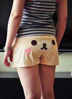 Rilakkuma short pants  #cute #rilakkuma #kawaii #clothes