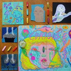 Sketchbook and lil 2012 & 2013 drawings