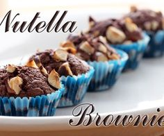 Nutella Brownies | Three Ingredients