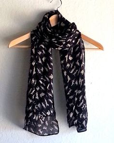 scarf, spring, summer scarf, Shawl, fashion scarf, Polyester scarf, for outfit, long scarf, black and peach scarf, camel and black, kitten