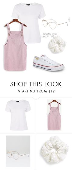 samantha - outfit 2 by electrasweetheart on Polyvore featuring Topshop, Converse and ASOS