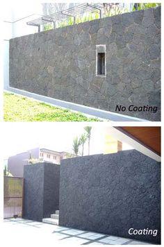 batu candi - coating batu alam
