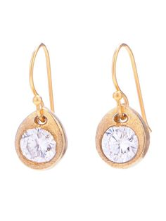 sparkle & gold earings