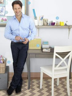 Nate Berkus's room organizing tips; revealers and concealers