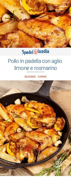 Stir-fried chicken with lemon garlic and rosemary- Stir-fried chicken with lemon. - Stir-fried chicken with lemon garlic and rosemary- Stir-fried chicken with lemon, lemon and rosemar - Italian Chicken Dishes, Italian Soup, Lemon Chicken, Fried Chicken, Rosemary Chicken, Healthy Italian Recipes, Pasta Types, Chicken Parmigiana, Italy Food