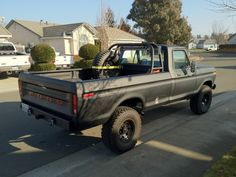 looking for pics of the ford with and tires - Page 3 - Ford Truck Enthusiasts Forums Custom Chevy Trucks, Farm Trucks, Ford Pickup Trucks, Gmc Trucks, Cool Trucks, Lifted Trucks, 1979 Ford Truck, Rc Drift Cars, Black Truck