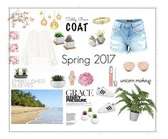 """""""Spring 2017!!🌴⭐️☀️🌎"""" by linneaha ❤ liked on Polyvore featuring MANGO, Boohoo, Linda Farrow, Jennifer Meyer Jewelry, Christian Dior, Nude, Ballard Designs, Canopy Designs, Oliver Gal Artist Co. and adidas"""