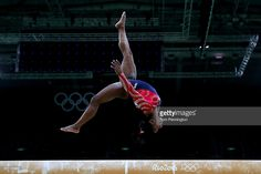 Simone Biles of the United States competes on the balance beam during Women's qualification for Artistic Gymnastics on Day 2 of the…