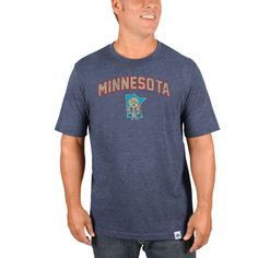 Minnesota Twins Majestic Cooperstown Collection Eephus Pitch Softhand T-Shirt - Navy - $29.99