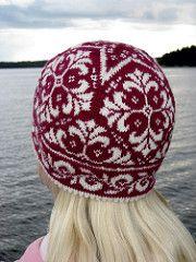 Ravelry: Edith the Hat pattern by Johanne Landin Knitting Paterns, Knitting Stitches, Knitting Designs, Crochet Wool, Crochet Hats, Things To Make With Yarn, Norwegian Knitting, Yarn Shop, Knitted Gloves