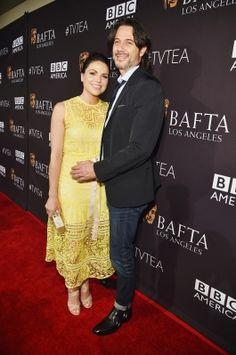 Lana Parrilla & Fred Di Blasio 2015 BAFTA Los Angeles TV Tea - Arrivals